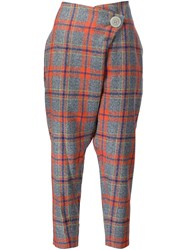 Vivienne Westwood Anglomania Flap Trousers Yellow And Orange