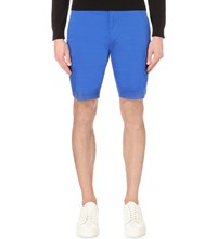 Hugo Boss Regular Fit Mid Rise Shorts Bright Blue