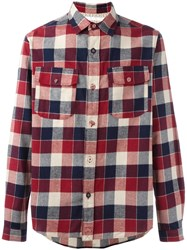 White Mountaineering Chest Pockets Shirt White