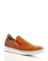 Robert Graham Hanover Slip On Sneakers Brown Nb