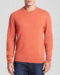 The Men's Store At Bloomingdale's Cashmere Sweater With Elbow Patches Bloomingdale's Exclusive Heather Orange