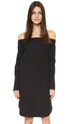 Rag And Bone Kacy Off Shoulder Dress Black