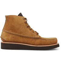 Yuketen Maine Guide Suede Boots Tan