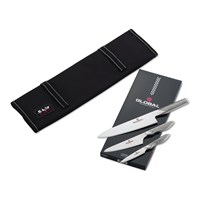 Global Anniversary Knife Set With Case Set Of 3