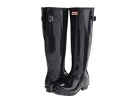 Hunter Original Back Adjustable Gloss Navy Women's Rain Boots