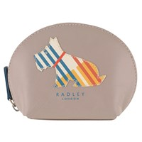 Radley Milner Small Leather Coin Purse Grey