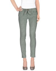 Nicwave Trousers Casual Trousers Women Light Green