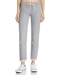 Monrow French Terry Sweatpants Heather