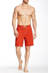 Tommy Bahama Hermosa Haze Reversible Swim Short Red