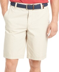 Izod Big And Tall Saltwater Flat Front Shorts