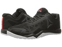 Reebok Ros Workout Tr 2.0 Stealth Black Coal White Riot Red Women's Cross Training Shoes