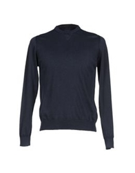Alpha Studio Sweaters Dark Blue