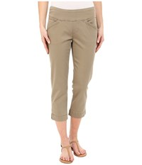 Jag Jeans Marion Crop In Bay Twill Hazelnut Women's Clothing Brown