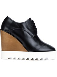 Stella Mccartney Wedge Lace Up Shoes