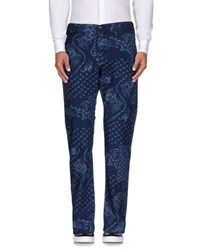 Edwin Trousers Casual Trousers Men Blue