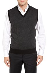 Toscano Men's Geometric Sweater Vest
