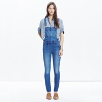 Madewell Skinny Overalls In Camila Wash