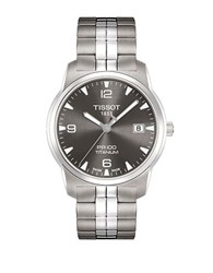 Tissot Men's Pr 100 Anthracite Quartz Classic Watch Silver