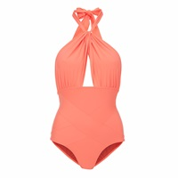Lilliput And Felix Amaranthus Swimsuit In Hot Coral Pink Purple