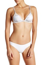 Onia Lilly Sporty Bikini Bottom White