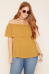 Forever 21 Plus Size Off The Shoulder Top