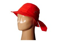 Betmar Knotted Cloche Poppy Caps Red