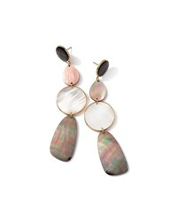 Ippolita 18K Rock Candy Sabia Multi Gemstone Drop Earrings