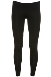 Topshop Tall Ankle Leggings Black