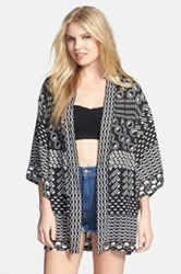 Josie 'Total Eclipse' Happi Coat Black