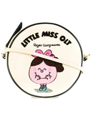Olympia Le Tan 'Little Miss Olt' Crossbody Bag Nude And Neutrals