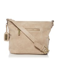 Ollie And Nic Edna Neutral Medium Crossbody Bag Neutral