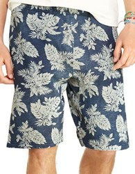 Polo Ralph Lauren Printed Terry Athletic Shorts Blue