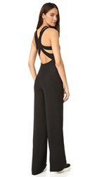 Opening Ceremony Stone Racer Jumpsuit Black