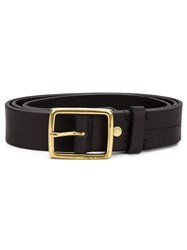 Rag And Bone Rag And Bone Metallic Buckle Belt Black