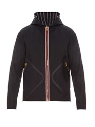 Moncler Gamme Bleu Reversible Wool Jacket Blue Multi