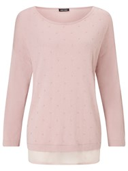 Gerry Weber Double Layer Jumper Rose