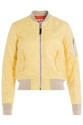 Schott Nyc Flight Jacket Yellow