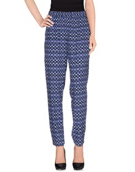 Noa Noa Trousers Casual Trousers Women Blue