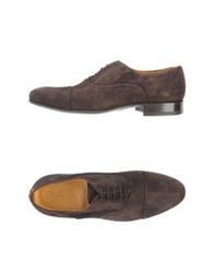 Cerbero Lace Up Shoes Dark Brown