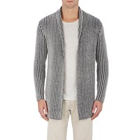 The Elder Statesman Smoking Jacket' Cardigan Multi