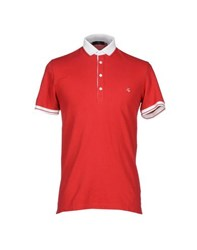 Fay Topwear Polo Shirts Men Red