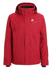 Salomon Fantasy Ski Jacket Briquex Bordeaux