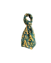Forever Collectibles Oaklanad Athletics All Over Logo Infinity Scarf Green