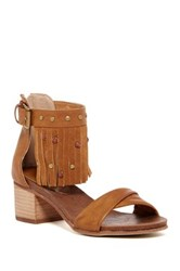 Rebels Lilith Fringe Sandal Brown