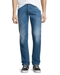Diesel Safado Slim Straight Faded Jeans Denim Blue L32