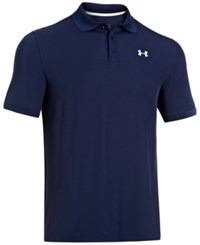 Under Armour 2.0 Performance Golf Polo Academy Blue