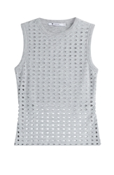 Alexander Wang Laser Cut Tank Top