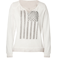 True Religion Us Flag Sweatshirt