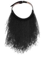 Brunello Cucinelli Monili Fringe Necklace Volcano