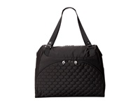 Mosey Move A Long Tote Jet Black Tote Handbags
